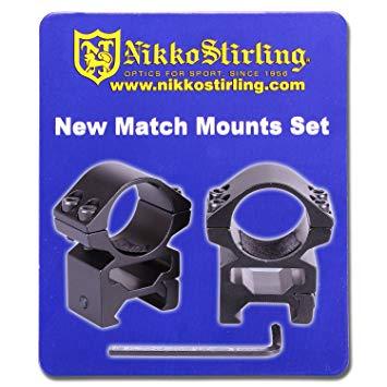 Nikko Stirling-Picatinny Scope Mounts-30mm