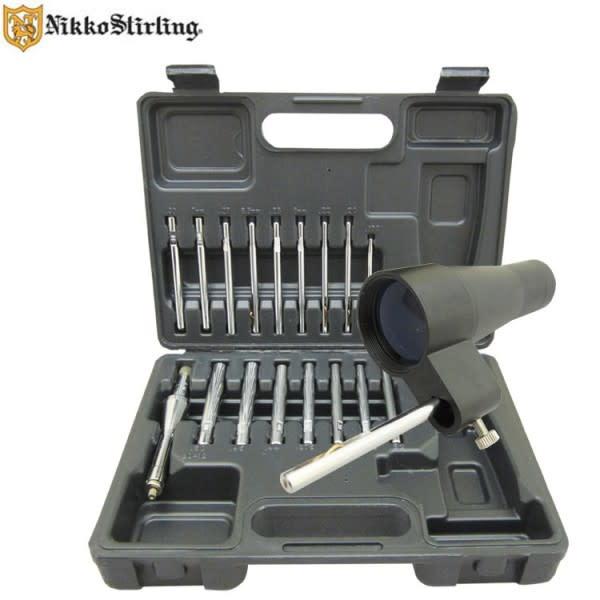 Nikko Stirling Scope alignment tool set, multi caliber & 12 ga, Model: NSALINGER